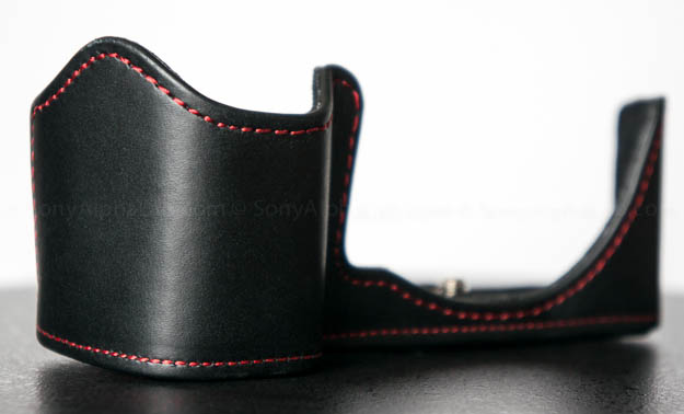 Toma Genuine Leather Nex-6 Half Case