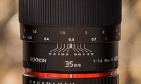 Rokinon 35mm f/1.4 Wide-Angle US UMC Aspherical Lens