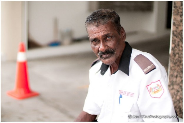 Security Guard in Penang City in Malaysia