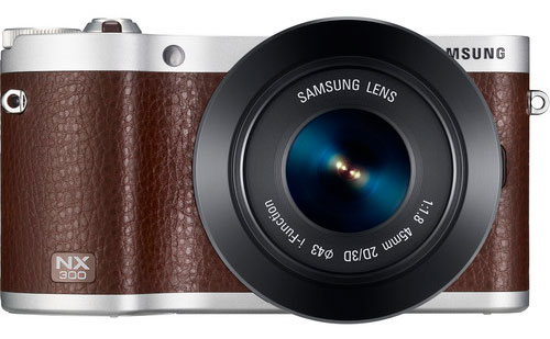 Samsung NX300 Mirrorless Digital Camera with 45mm f/1.8 2D/3D Lens