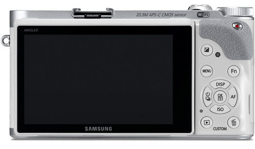 Samsung NX300 Mirrorless Digital Camera - Back