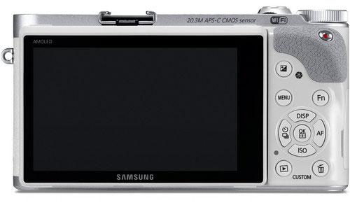 Samsung NX300 Mirrorless Digital Camera - Back