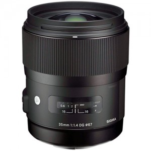 35mm f/1.4 DG HSM Lens - Sony A-Mount