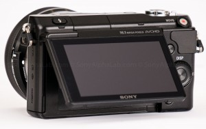 Sony Nex-3n - Back with Screen Out
