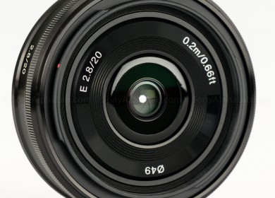 Sony E-Mount 20mm f/2.8 Lens - SEL20F28