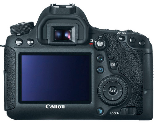 Canon 6d Back