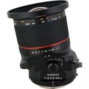 Rokinon Tilt-Shift 24mm f/3.5 ED AS UMC Lens for Sony Alpha