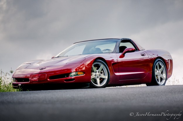 Corvette HDR Photograph - Nex-6 and 55-210mm lens
