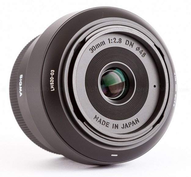 Sigma E-Mount 30mm f/2.8 DN Lens