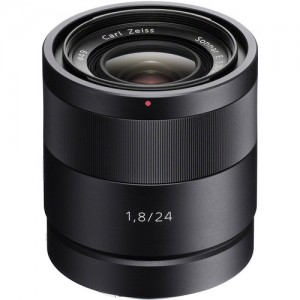 Sony SEL24F18Z 24mm f/1.8 E-Mount Carl Zeiss Sonnar Lens