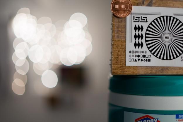 Zeiss Touit 32mm f/1.8 Lens @ f/1.8 - Specular Highlight Test