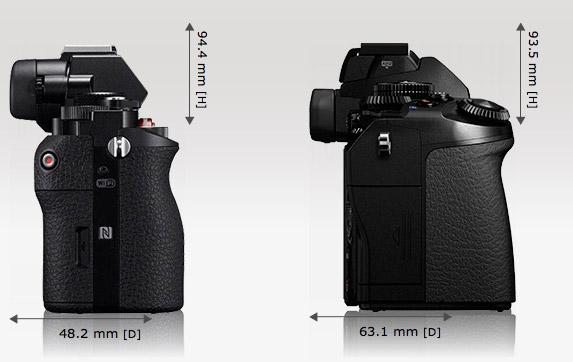 Sony A7 VS Olympus OM-D E-M1