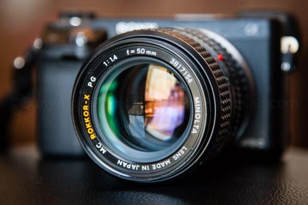 Sony Nex-6 w/ Minolta MX Rokkor-X PG F/1.4 50mm Lens