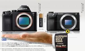 Sony A7 vs Sony Nex-6