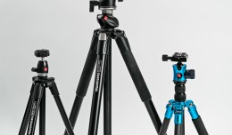 a selection of tripods