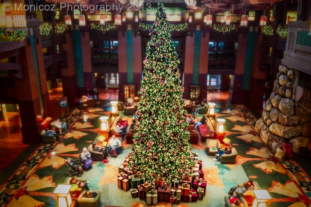 """Grand Californian Christmas Tree"""