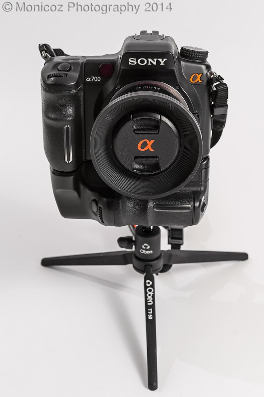 One of my table-top tripods