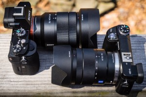 Sony A7r vs Sony Nex-6 via Zeiss Zoom Lenses