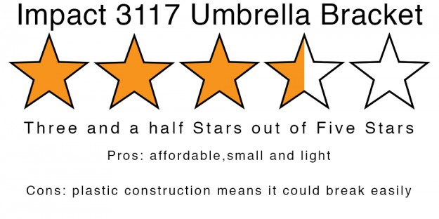 Impact 3117 Umbrella Bracket rating