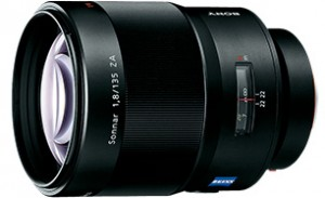 Sony Sonnar T* 135mm F1.8 ZA Lens
