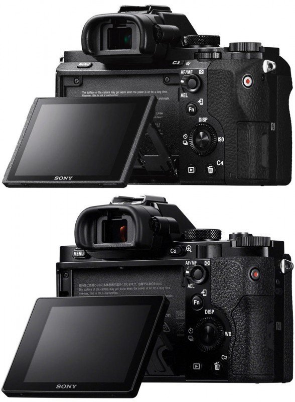 Sony a7II vs a7 - Back w/ Articulating Screen