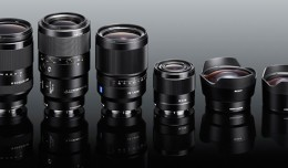 New Sony FE lenses e-mount