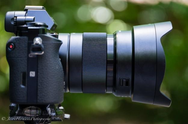 FE 21mm F/2 Lens w/ 16mm f/3.5 Fisheye Lens converter (sel057fec)