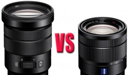 Sony 18-105mm G Lens vs 16-70mm ZA Lens?