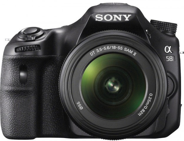 Sony Alpha a58 DSLR Camera with 18-55mm Lens