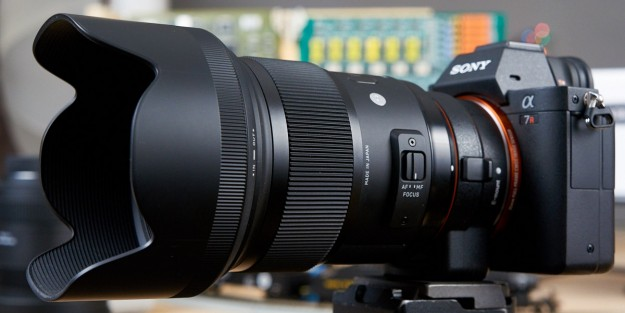 A-Mount 50mm f/1.4 Art Lens
