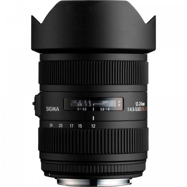 Sigma 12-24mm f/4.5-5.6 DG HSM II Lens (For Sony)