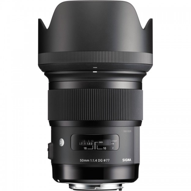 Sigma 50mm f/1.4 DG HSM Art Lens for Sony A-Mount Cameras