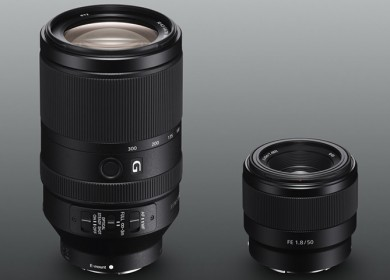 New Sony FE 70-300mm and 50mm f1.8 Lens Announced