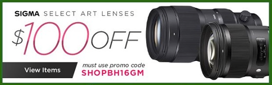 Sigma Art Lens Deals