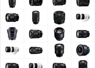 Best Lens Options for Sony Full Frame E-Mount Cameras - A7r II, A7s II, A7 II, A7r, A7s, A7
