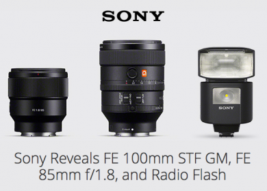 Sony Announces New Gear