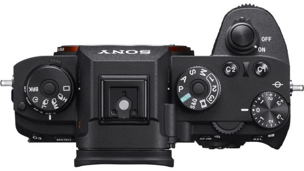 Sony A9 Top