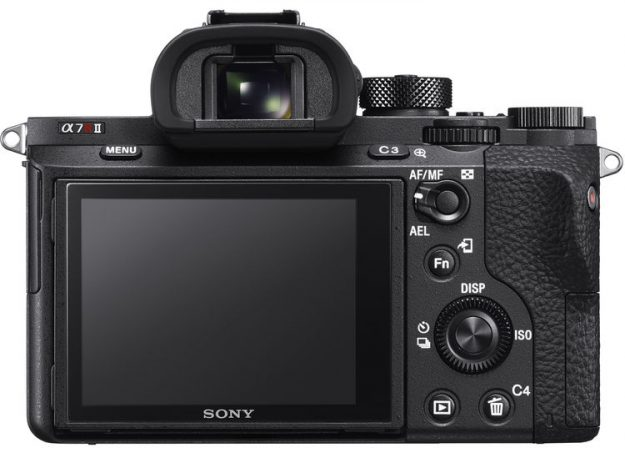 Sony A7r II - Back Side