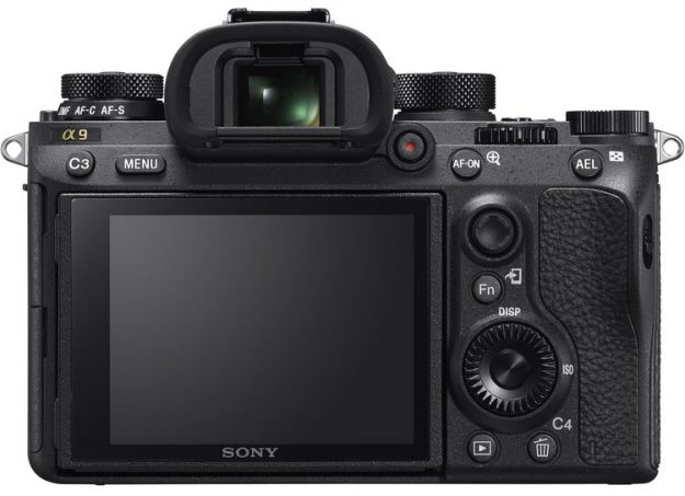 Sony A9 - Back Side
