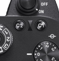 Sony A9 Custom 1 Button (C1)
