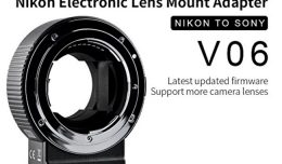 Commlite Lens adapter - Nikon to Sony E