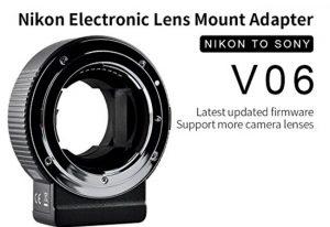 Commlite Lens adapter - Nikon to Sony E