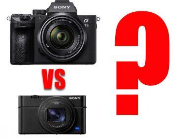Sony A7 III vs Sony RX100 IV?