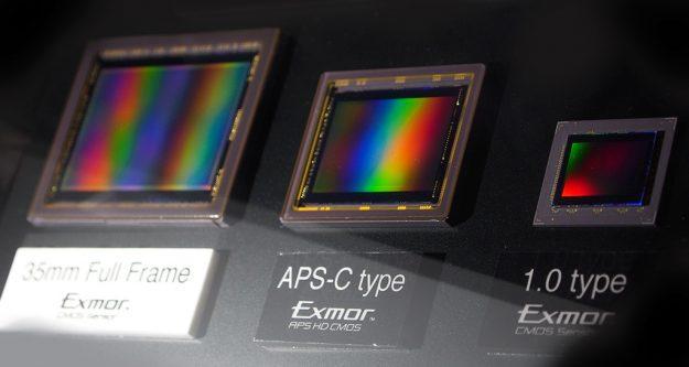 Sony Sensor Sizes